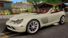 Mercedes-Benz SLR Roadster для GTA San Andreas