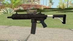 Carbine Rifle GTA V Tactical (Extended Clip) для GTA San Andreas