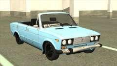 ВАЗ 21063 Старый ржавый кабриолет для GTA San Andreas