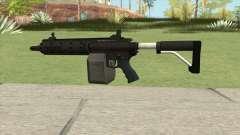 Carbine Rifle GTA V Flashlight (Box Clip) для GTA San Andreas