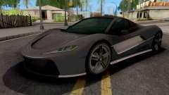 Progen T20 GTA 5 для GTA San Andreas