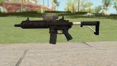 Carbine Rifle GTA V Tactical (Default Clip) для GTA San Andreas