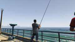 Fishing Mod для GTA 5