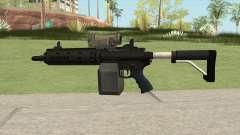 Carbine Rifle GTA V Tactical (Box Clip) для GTA San Andreas