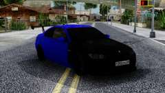 BMW M3 E92 Black & Blue для GTA San Andreas