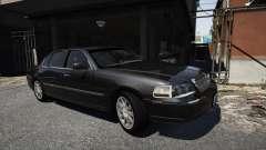 Lincoln TownCar 2010 v1 для GTA 5