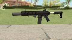 Carbine Rifle V2 (Flashlight, Grip, Silenced) для GTA San Andreas