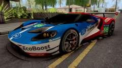 Ford Racing GT Le Mans Racecar для GTA San Andreas