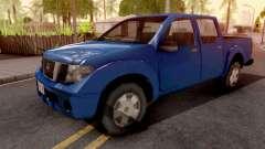 Nissan Frontier Blue для GTA San Andreas