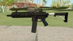 Carbine Rifle GTA V V3 (Flashlight, Tactical) для GTA San Andreas