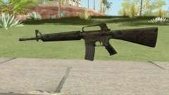 M16A2 Full Jungle Camo (Stock Mag) для GTA San Andreas
