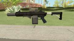 Carbine Rifle V1 (Grip, Silenced, Tactical) для GTA San Andreas
