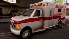 Ambulance GTA III Xbox для GTA San Andreas