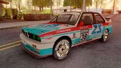 BMW M3 E30 DTM для GTA San Andreas