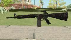 M16A2 Full Forest Camo (Stock Mag)