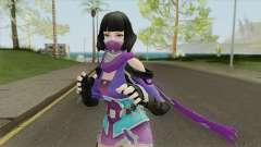 Creative Destruction NinjaGirl для GTA San Andreas