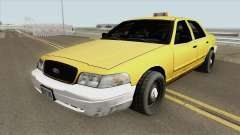 Ford Crown Victoria - Taxi v2 для GTA San Andreas