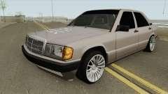 Mercedes-Benz 190E W201 HQ для GTA San Andreas