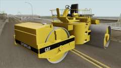 Caterpillar Road Roller для GTA San Andreas