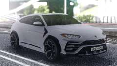 Lamborghini Urus 2019 White для GTA San Andreas