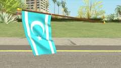 Iraqi Turkmen Flag для GTA San Andreas