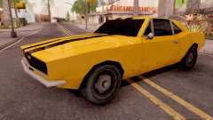 Chevrolet Camaro SS Yellow для GTA San Andreas