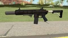 Carbine Rifle GTA V Default (Grip, Silenced) для GTA San Andreas
