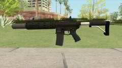 Carbine Rifle GTA V V2 (Silenced, Flashlight) для GTA San Andreas