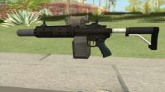 Carbine Rifle GTA V V1 (Silenced, Tactical) для GTA San Andreas