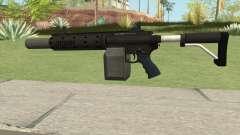 Carbine Rifle GTA V V1 (Silenced, Flashlight) для GTA San Andreas