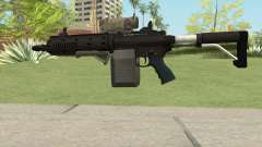 Carbine Rifle V1 (Tactical, Flashlight, Grip) для GTA San Andreas