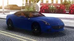 Ferrari California Blue для GTA San Andreas