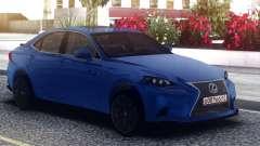 Lexus GS-F Blue Sedan для GTA San Andreas