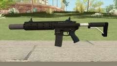 Carbine Rifle GTA V Silenced (Default Clip) для GTA San Andreas