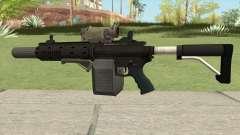 Carbine Rifle GTA V Complete Upgrades (Box Clip) для GTA San Andreas