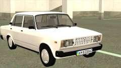 ВАЗ 2107 Украина для GTA San Andreas