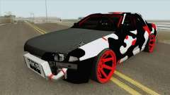 Nissan Skyline R32 Drift Camo