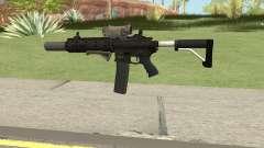 Carbine Rifle V3 (Grip, Silenced, Tactical) для GTA San Andreas