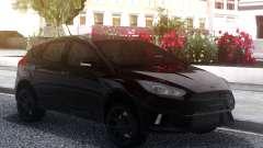 Ford Focus RS 2018 Black для GTA San Andreas