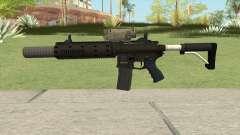 Carbine Rifle GTA V V2 (Silenced, Tactical) для GTA San Andreas