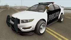 Vapid Unnamed Police Interceptor V2 GTA V для GTA San Andreas