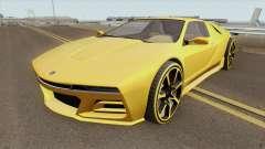 Ubermacht SC1 GTA V для GTA San Andreas