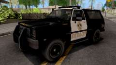 GTA IV Declasse Sheriff Rancher IVF для GTA San Andreas