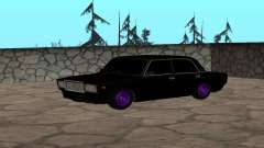 ВАЗ Черный 2107 для GTA San Andreas