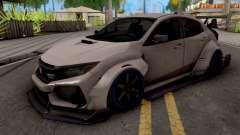 Honda Civic Type-R Grey для GTA San Andreas