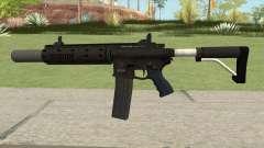 Carbine Rifle GTA V Silenced (Extended Clip) для GTA San Andreas