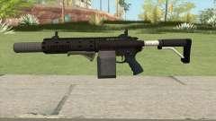 Carbine Rifle GTA V Box (Grip, Silenced) для GTA San Andreas