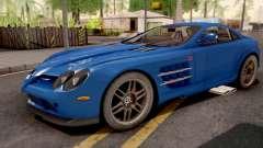 Mercedes-Benz SLR 722 Blue для GTA San Andreas