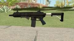 Carbine Rifle GTA V Default (Flashlight, Grip) для GTA San Andreas