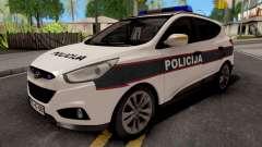 Hyunday IX35 Policija Bih для GTA San Andreas